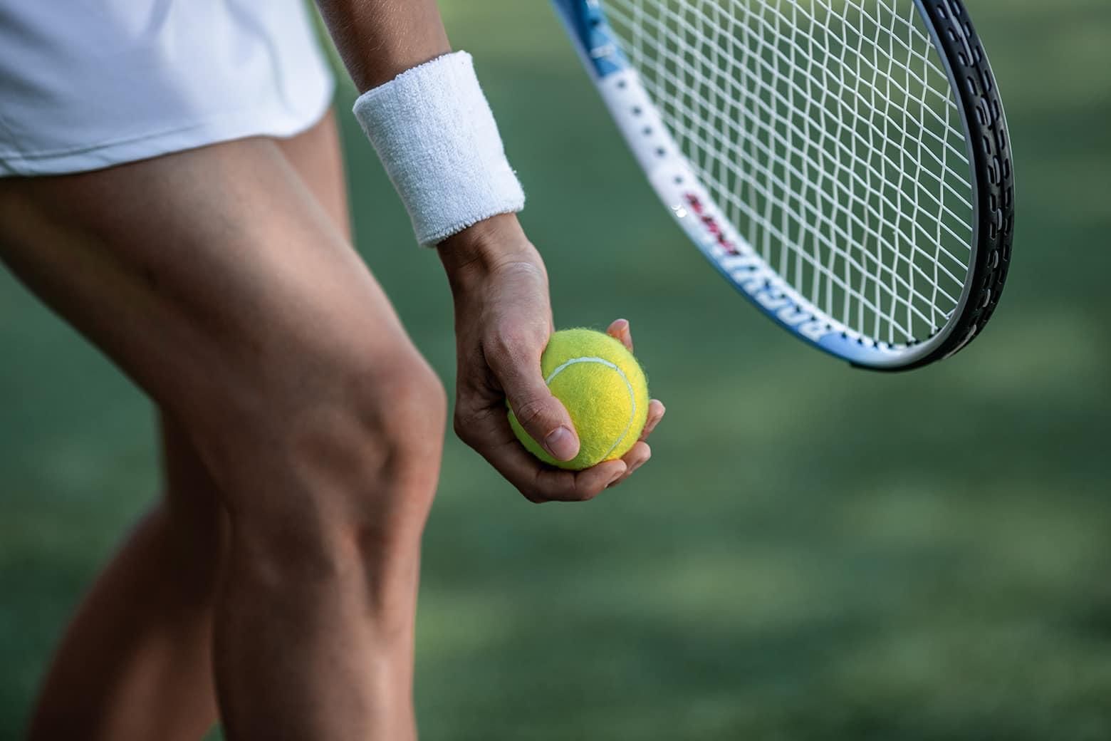 Обучение игре в теннис
